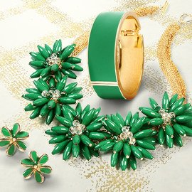 A Touch of Green: Women's Jewelry