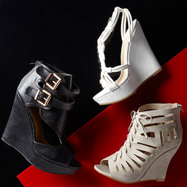 Step Out: Wedges & Pumps