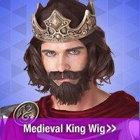 Shop Medieval King Wig