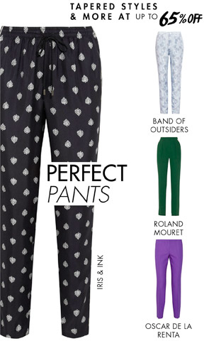 SPRING PANTS UP TO 65% OFF