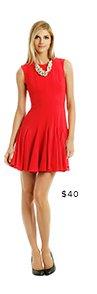 BCBGMAXAZRIA - Kalyn Godet Dress