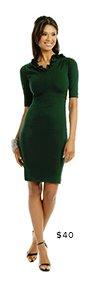 MOSCHINO - Courtess Ruffle Dress