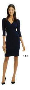 RACHEL ROY - Mix Media Combo Dress