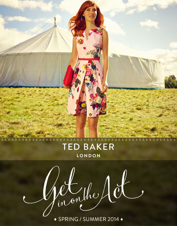 TED BAKER - LONDON - Get in on the Act - SPRING / SUMMER 2014