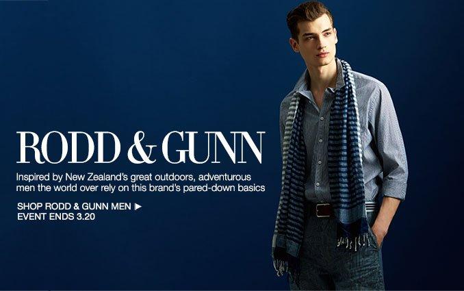Shop Rodd & Gunn - Men
