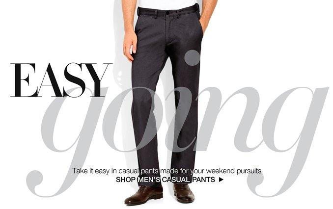 Shop Casual Pants - Men