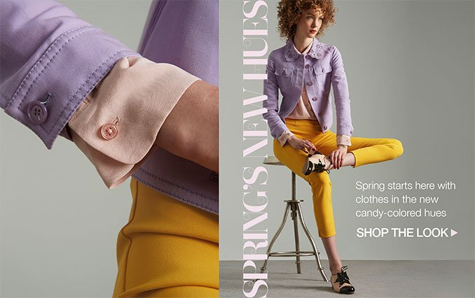 Shop Spring's New Hues - Ladies