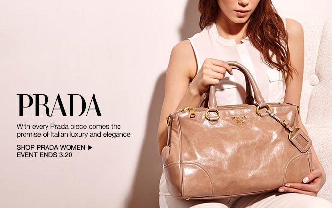 Shop Prada Handbags - Ladies