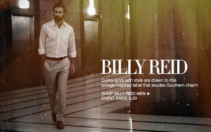 Shop Billy Reid - Men