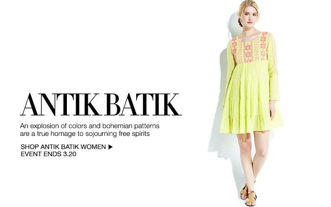 Shop Antik Batik - Ladies