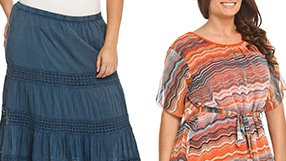 Boho Chic Tops & Skirts