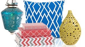 Bold & Bright: Home Accents