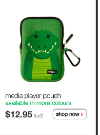 media player pouch - available in more colours - $12.95aud - shop now >