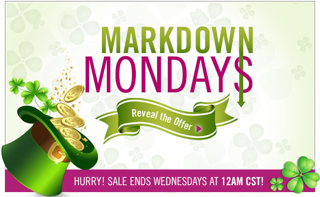 Markdown Mondays. Reveal the Offer.