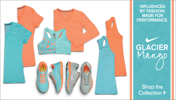 Nike Glacier Ice - Mango Collection