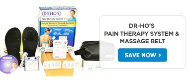 DR-HO's Pain Therapy System & Massage Belt