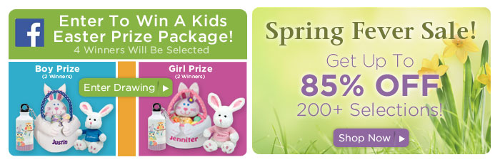 Facebook Easter Contest & Big Sale: Save up to 85%