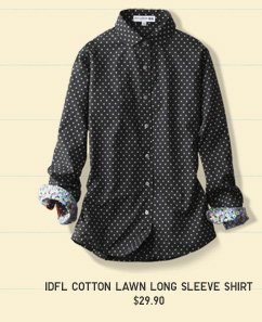 INES COTTON LAWN SHIRT