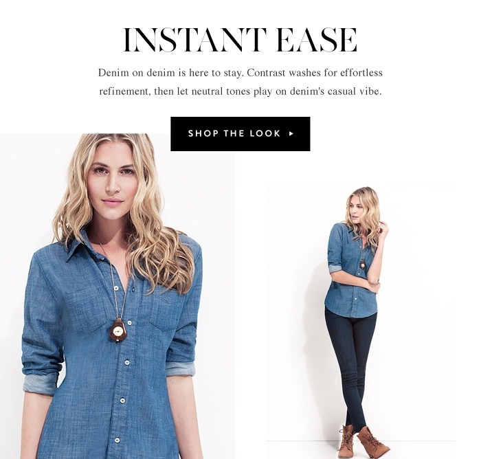 Instant Ease - Shop The Look