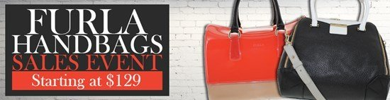 Save up to 61% during the Furla handbags sales event