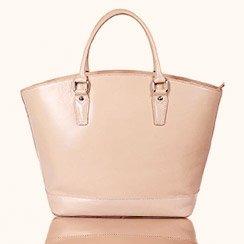 The Neutral Handbag in Tan, Black & White