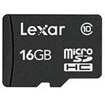 Adorama - Lexar 16GB Class 10 microSDHC Memory Card