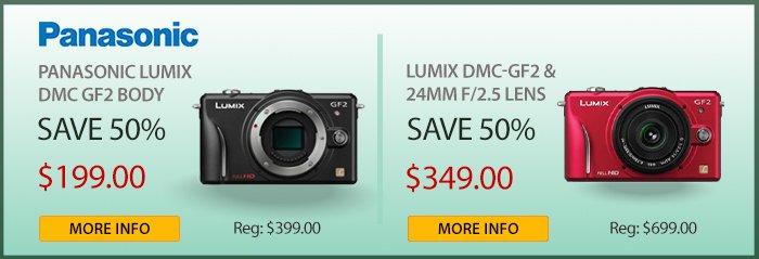 Adorama - Panasonic Lumix GF2 Body And Bundles