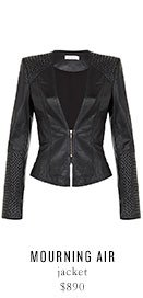 MOURNING AIR jacket - $890