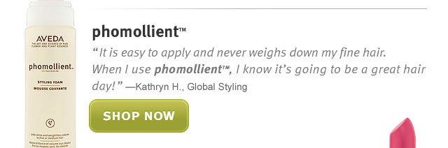 phomollient. shop now.
