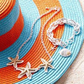 Bright by the Beach: Accessories