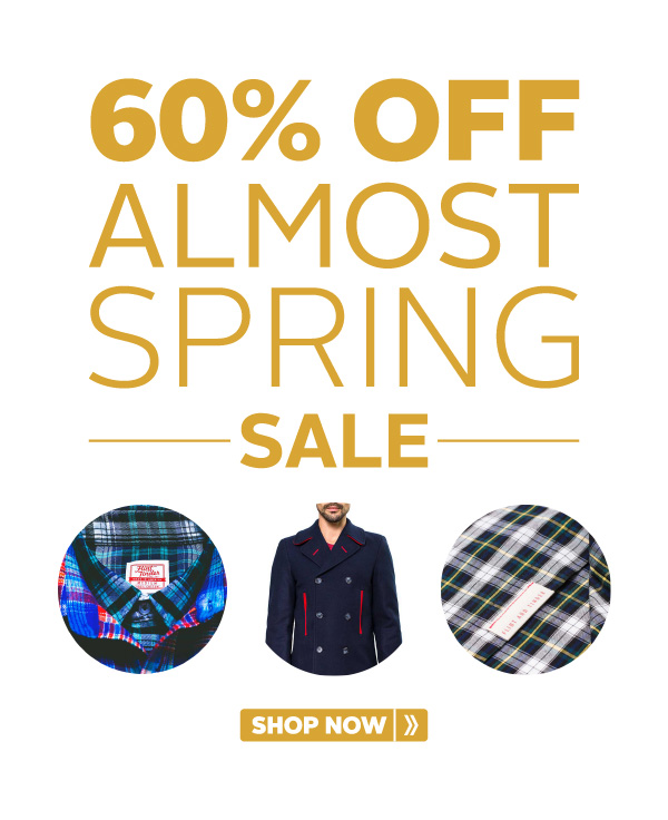 60% Off almost SPRING SALE!