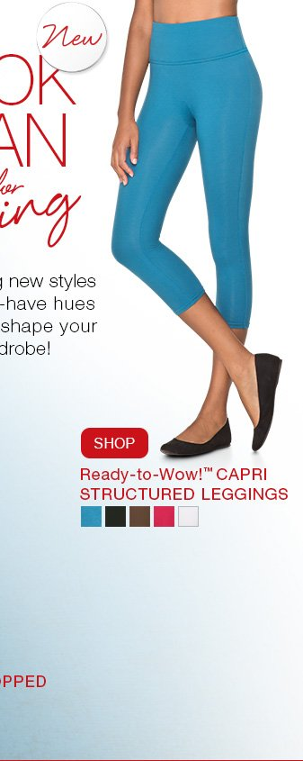 Ready-to-Wow!™ Capri Structured Leggings