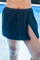 Women's Plus Size Swimwear - Christina Separates Skirted Bottom w/ Brief