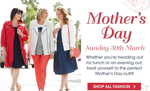 Mother's Day-Shop All Fashion