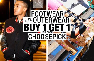 Pick and Choose: Outerwear OR Footwear