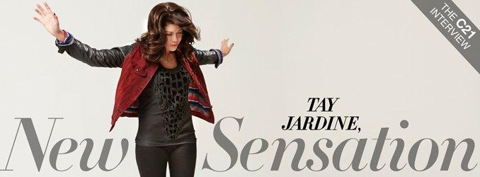 Tay Jardine, New Sensation. The C21 Interview.