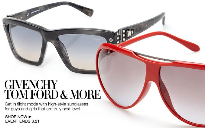 Shop Givenchy, Tom Ford & More Sunglasses