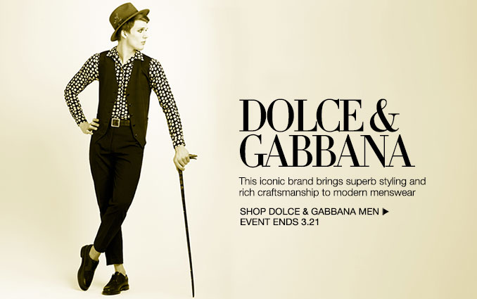 Shop Dolce & Gabanna - Men