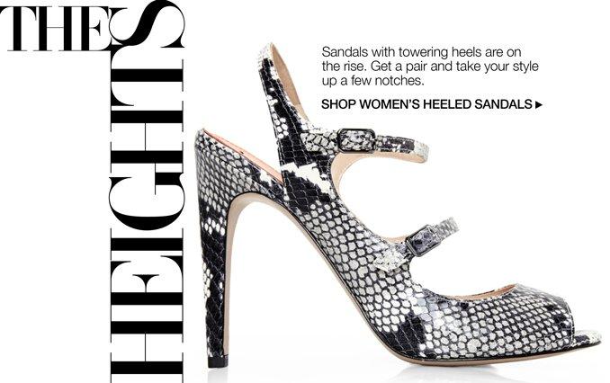 Shop Heeled Sandals - Ladies