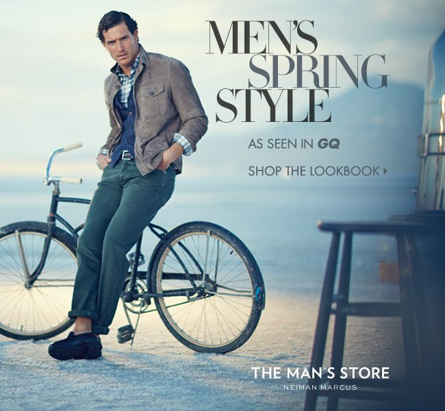 Men's Spring Style, as seen in GQ