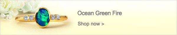 Ocean Green Fire
