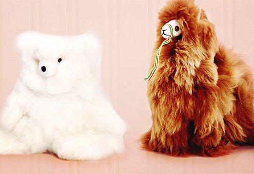 Handmade in Peru - Genuine Baby Alpaca Toys