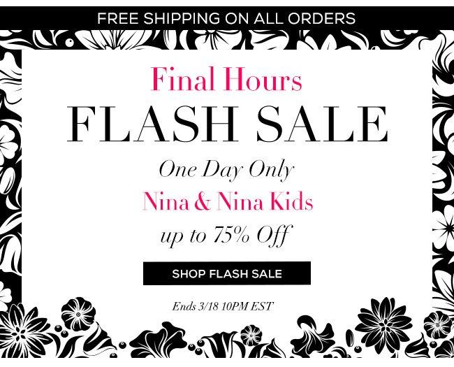 Flash Sale Final Hours