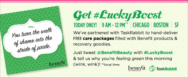 What follows St. Patrick's Day? Two FREE gifts!