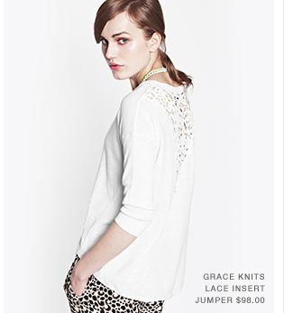 Grace Knits Lace Jumper