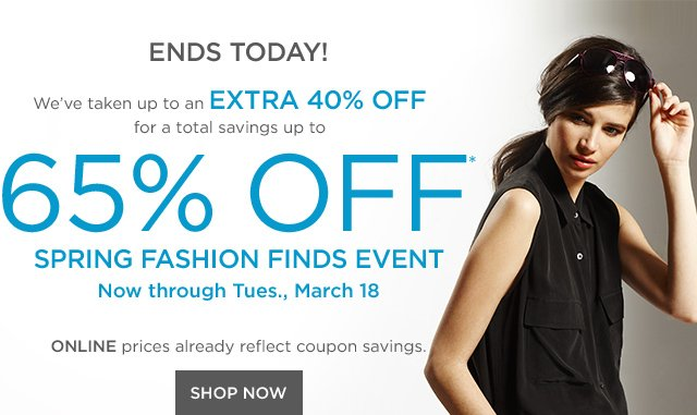 Up to 65% off Fashion Finds
