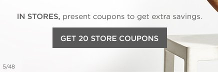 Get 20 Store Coupons
