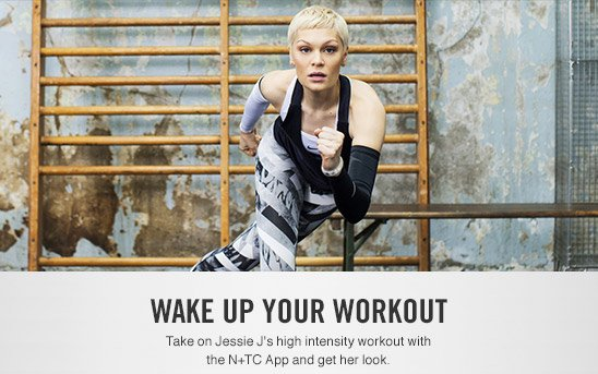 WAKE UP YOUR WORKOUT