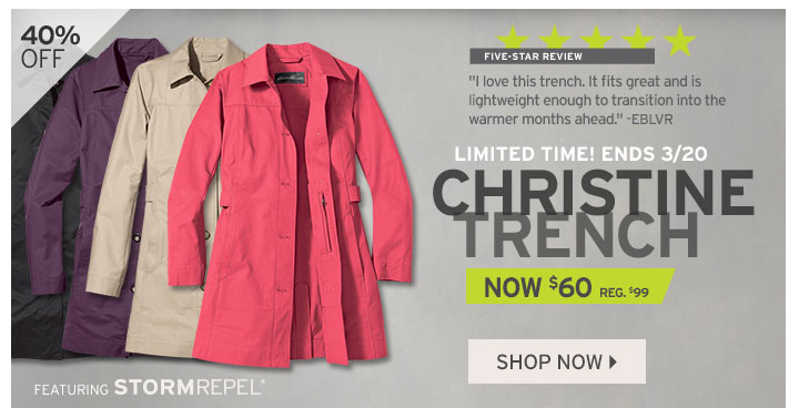 Shop Christine Trench