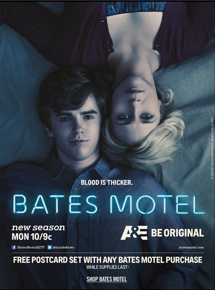 BLOOD IS THICKER. BATES MOTEL